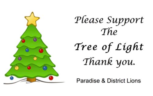 Tree of Light information card